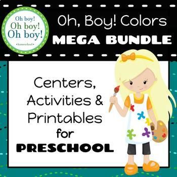 Oh, Boy! Colors Preschool Mega Bundle