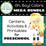 Oh, Boy! Colors Preschool Mega Bundle