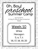 Oh, Boy! Preschool Camp Week 10