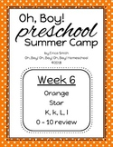 Oh, Boy! Preschool Camp Week 6