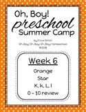 Oh, Boy! Preschool Camp Week 6