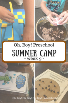 Oh, Boy! Preschool Summer Camp Week 9