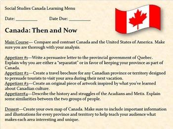 Canada, Oh Canada! Unit Lesson Plans & Interactive Notebook MEGA Bundle