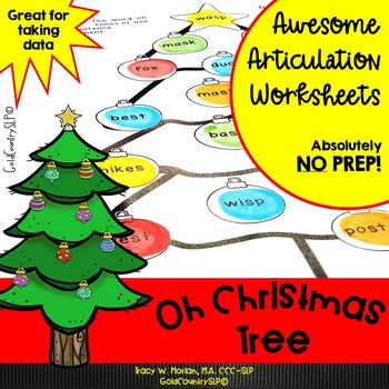 Oh Christmas Tree Awesome Articulation Dot Art