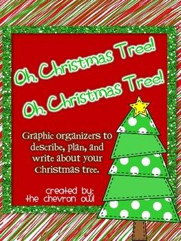 Oh Christmas Tree! Christmas Tree Decorating Graphic Organizers