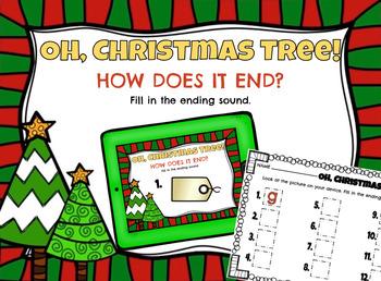 Oh, Christmas Tree! Ending Sounds