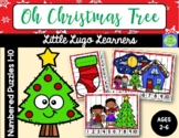 Oh Christmas Tree Numbered Puzzles 1-10