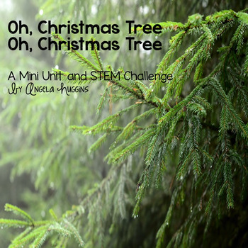 #jollygoodfreebie Oh Christmas Tree: A Micro Mini Unit and