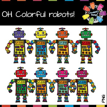 Oh Colorful Robots!