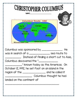 Oh Columbus! Christopher Columbus that is!