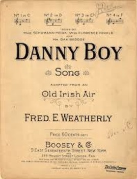 """""""Oh, Danny Boy"""" - St. Patrick's Day - Immigration - SS Activity"""