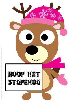 Oh Deer! Christmas Song Title Unscramble Bulletin Board Kit