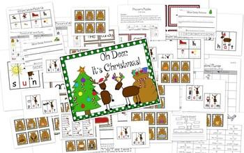 Oh Deer, It's Christmas: Literacy Pack