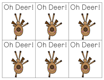 Oh Deer! Letter Sounds Game