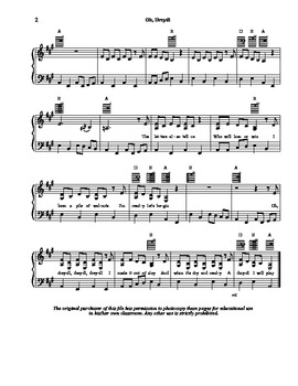 Oh Dreydl (Dreidel)  - Sheet Music