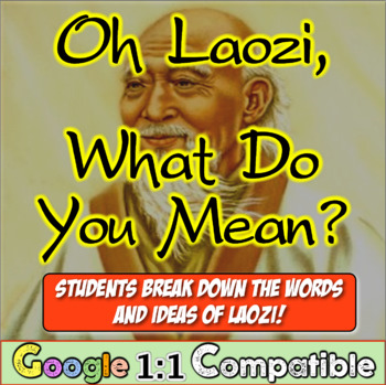 Oh, Laozi! What do you mean? Students translate Taoism's founder!
