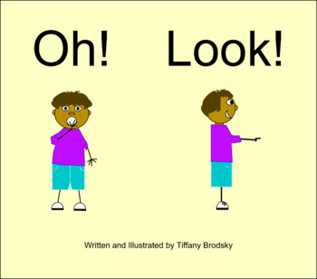 Oh! Look! Book Sight, Dolch, or High Frequency Word Story