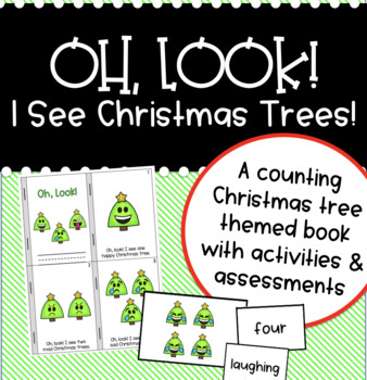 Oh Look! I See Christmas Trees! {A Counting Christmas book with activities}