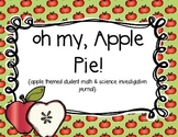Oh My, Apple Pie! {Apple Investigation Journal}