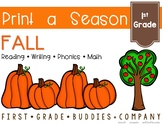 Print a Season: Fall Activities | Pumpkins | Apples