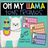 Oh My Llama! Tens Frames for Counting Days in School