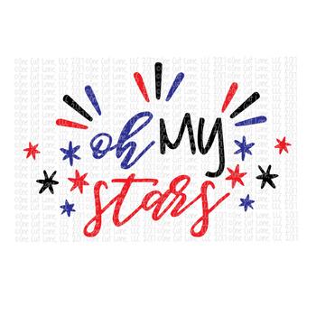 Oh My Stars SVG Cut File