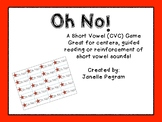 Oh No! A Short Vowel Word Game
