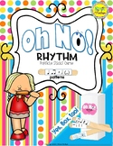 Oh No! Rhythm (Ta, Ti-Ti, Rest and Half Note) Popsicle Sti