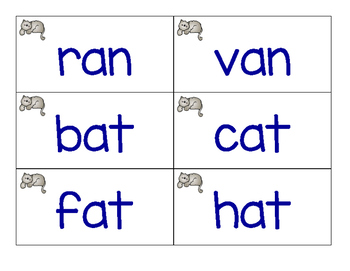 Oh No - Short Vowels/CVC word game - color version