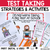 Oh No! We Are Taking A Big Test At School (A Social Story)