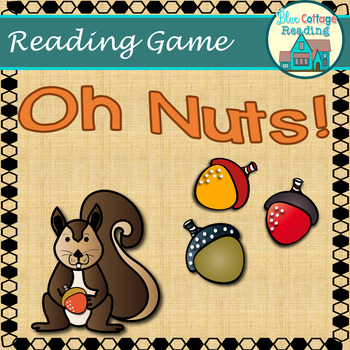Oh Nuts! A reading review board game