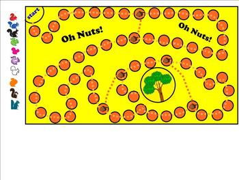 Oh Nuts!  Smartboard Game!