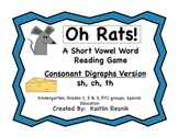Oh, Rats! Consonant Digraphs Game -sh, ch, th