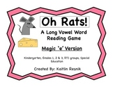 Oh, Rats! Long Vowel Magic 'e' Word Reading Game