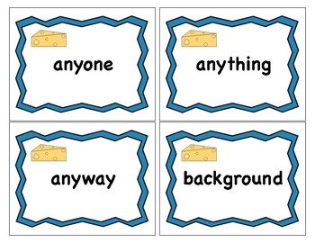 Oh Rats! Multisyllabic Words - Compound Words Version