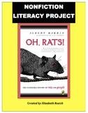 Unique Book Study: Oh, Rats! 5th, 6th, & 7th