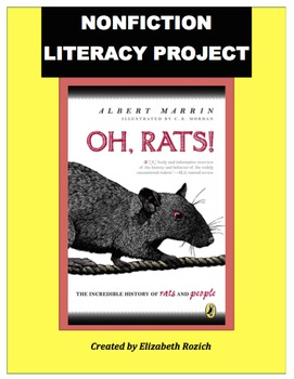 Unique Book Study: Oh, Rats! 5th, 6th, & 7th
