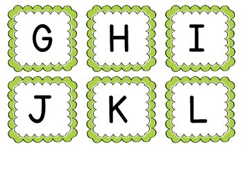 Oh SNAP! Letter/Sound Recognition Game