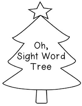 Oh Sight Word Tree