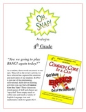 """""""Oh, Snap!"""" 4th Grade Analogies Game Common Core"""