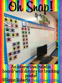 Oh Snap! {An Interactive Points Tracking Bulletin Board}