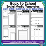 Oh Snap! Editable Social Media Template: Back to School Edition