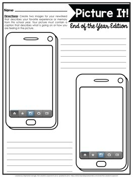 Oh Snap! Editable Social Media Template: End of the Year Edition