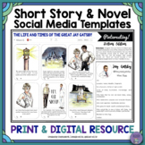 Oh Snap! Editable Social Media Template for Any Short Story or Novel