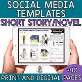 Short Story or Novel Social Media Template