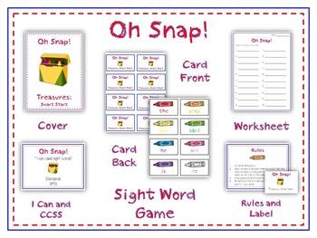 Oh Snap! Math Folder Card Game - Adding to Make 10 - Making Ten