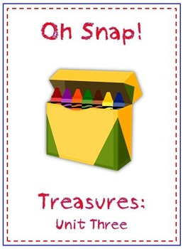 Oh Snap! First Grade Sight Word Game - Treasures Reading Program - Unit 3