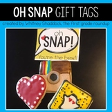 Gift Tags and Valentine Cards: Oh, Snap!