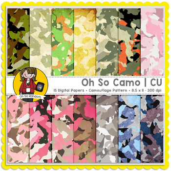 Oh So Camo {Papers for CU}
