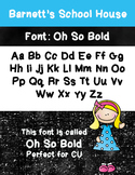 Fonts: Oh So Bold Commercial Use Lifetime